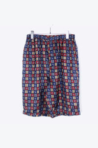 90'S SILK SHORTS / MULTI [SIZE: L USED][金沢店]