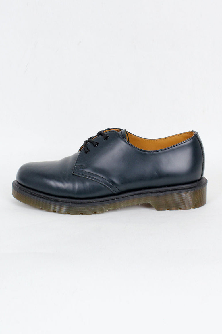 3HOLE LEATHER SHOES / NAVY [SIZE: US7(25cm相当) DEAD STOCK][金沢店]