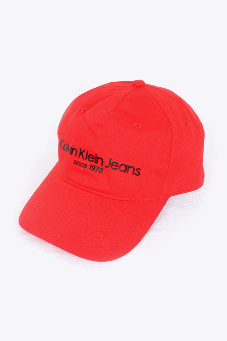 COTTON TWILL LOGO CAP / RED [SIZE: O/S NEW][小松店][30%OFF]