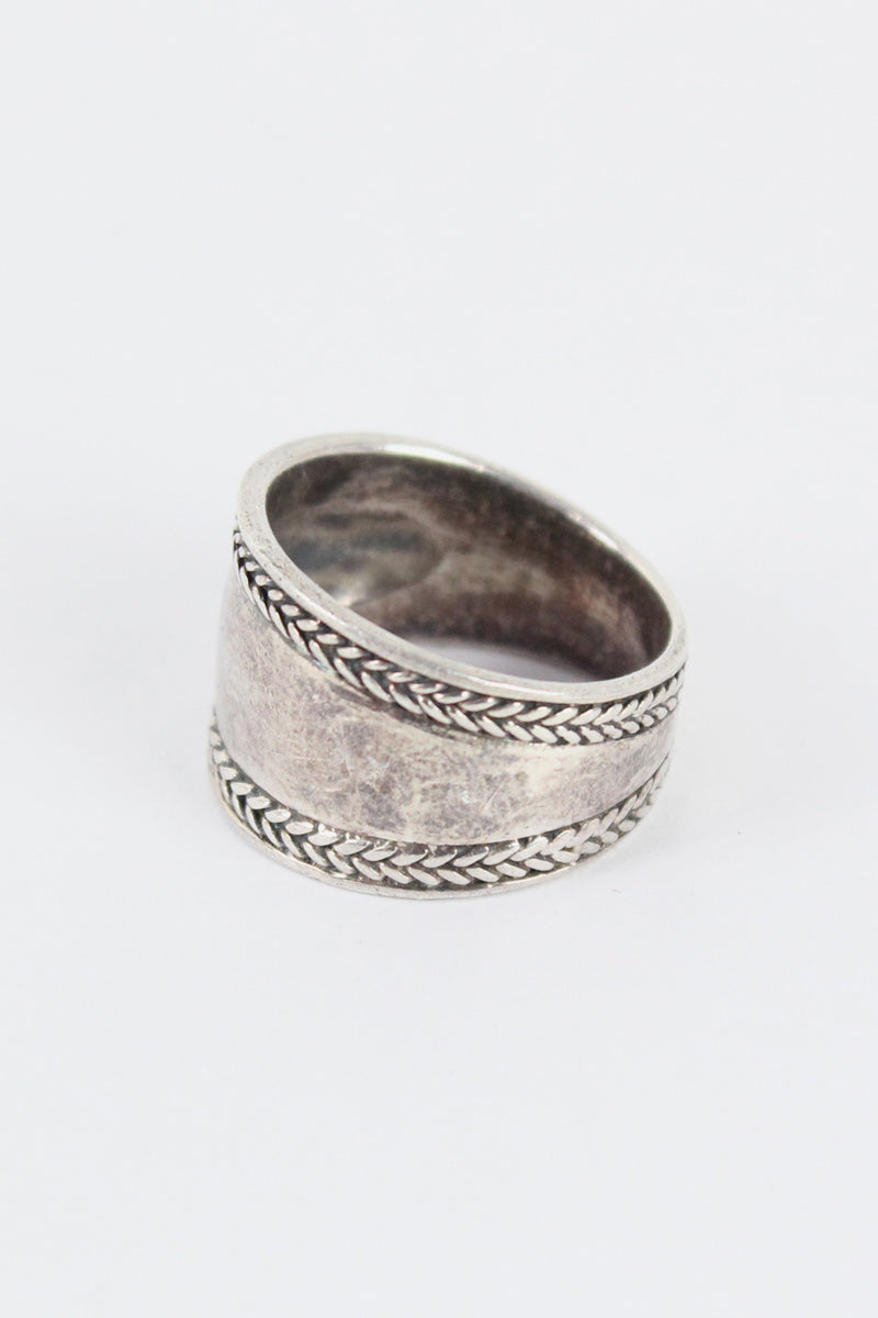 925 SILVER RING【SIZE:16号相当 USED】【金沢店】