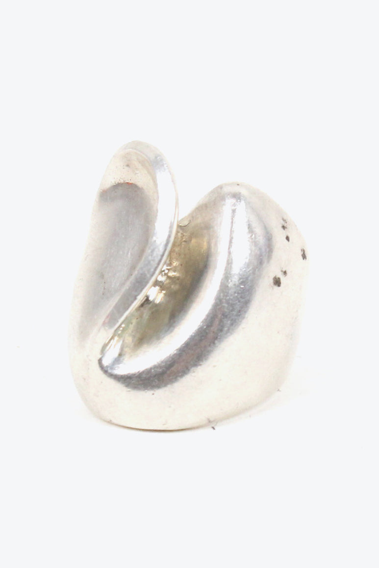 STALING SILVER RING [SIZE: 11号相当 USED][金沢店]