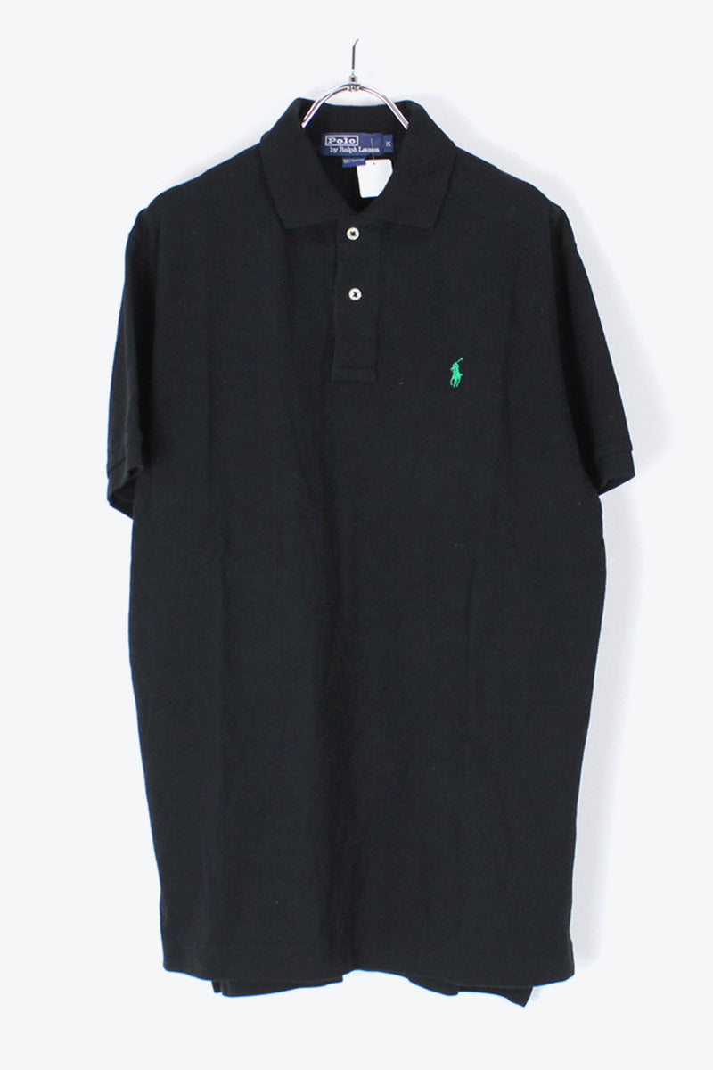 S/S POLO SHIRT / BLACK【SIZE:M USED】【金沢店】