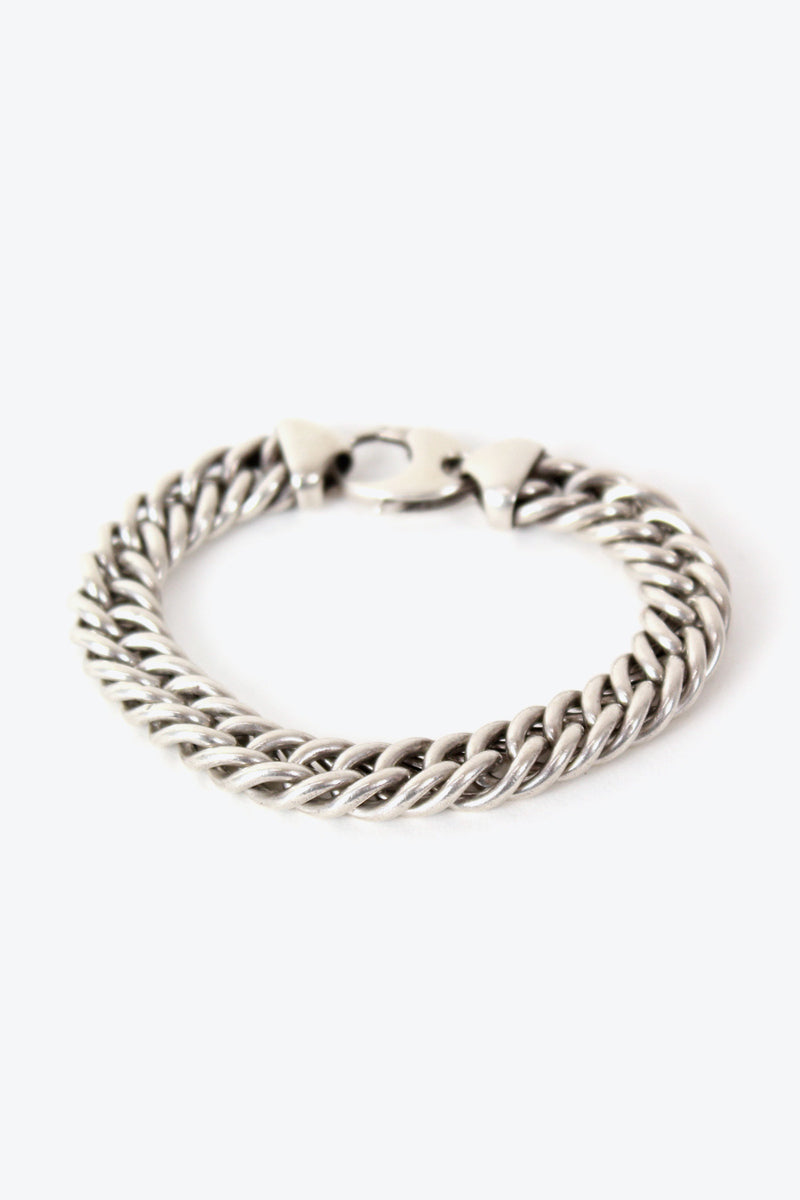 MADE IN ITALY 925 SILVER CHAIN BRACELET【ONE SIZE: USED】【金沢店】
