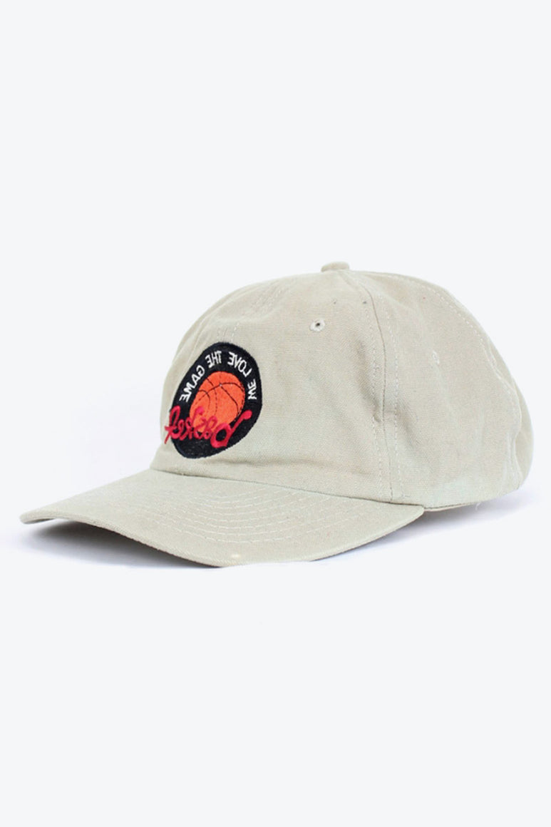 90'S BASKETBALL LOGO CAP / BEIGE [SIZE: O/S USED][金沢店]
