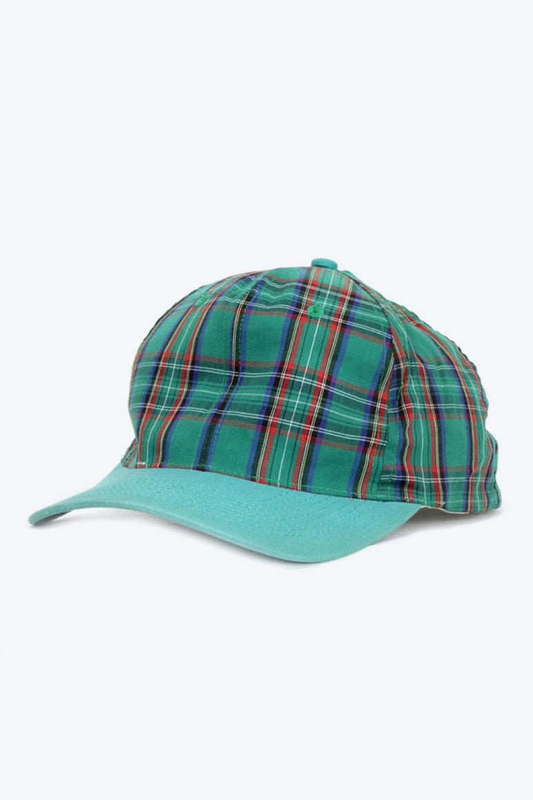 90'S CHECK CAP / GREEN [SIZE: O/S USED][金沢店]