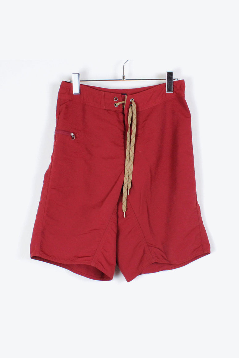 90'S SWIM SHORTS / RED [SIZE: 28 USED][金沢店]