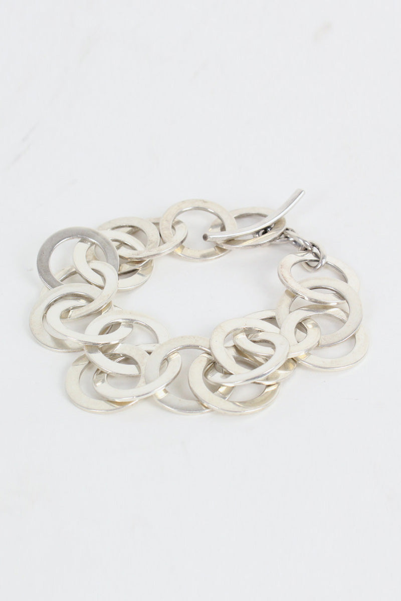 SILVER BRACELET T-BAR [SIZE:ONE SIZE USED][金沢店]