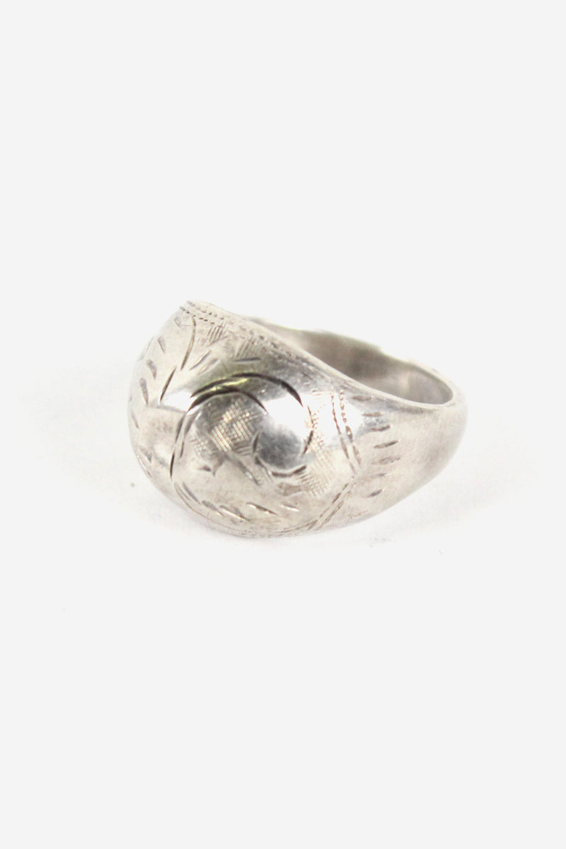 925 SILVER RING【SIZE:9号相当 USED】【金沢店】