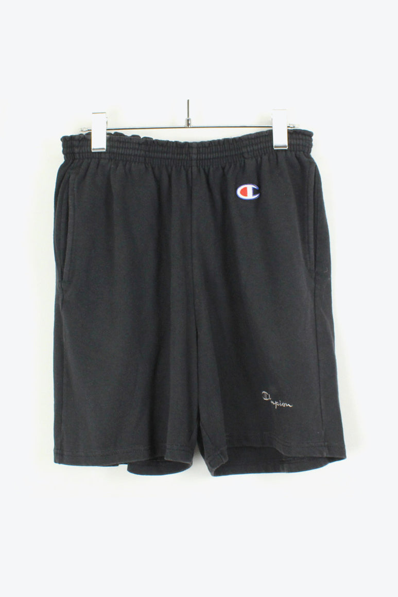 ONE POINT LOGO TRAINING SHORTS / BLACK [SIZE: L USED][金沢店]