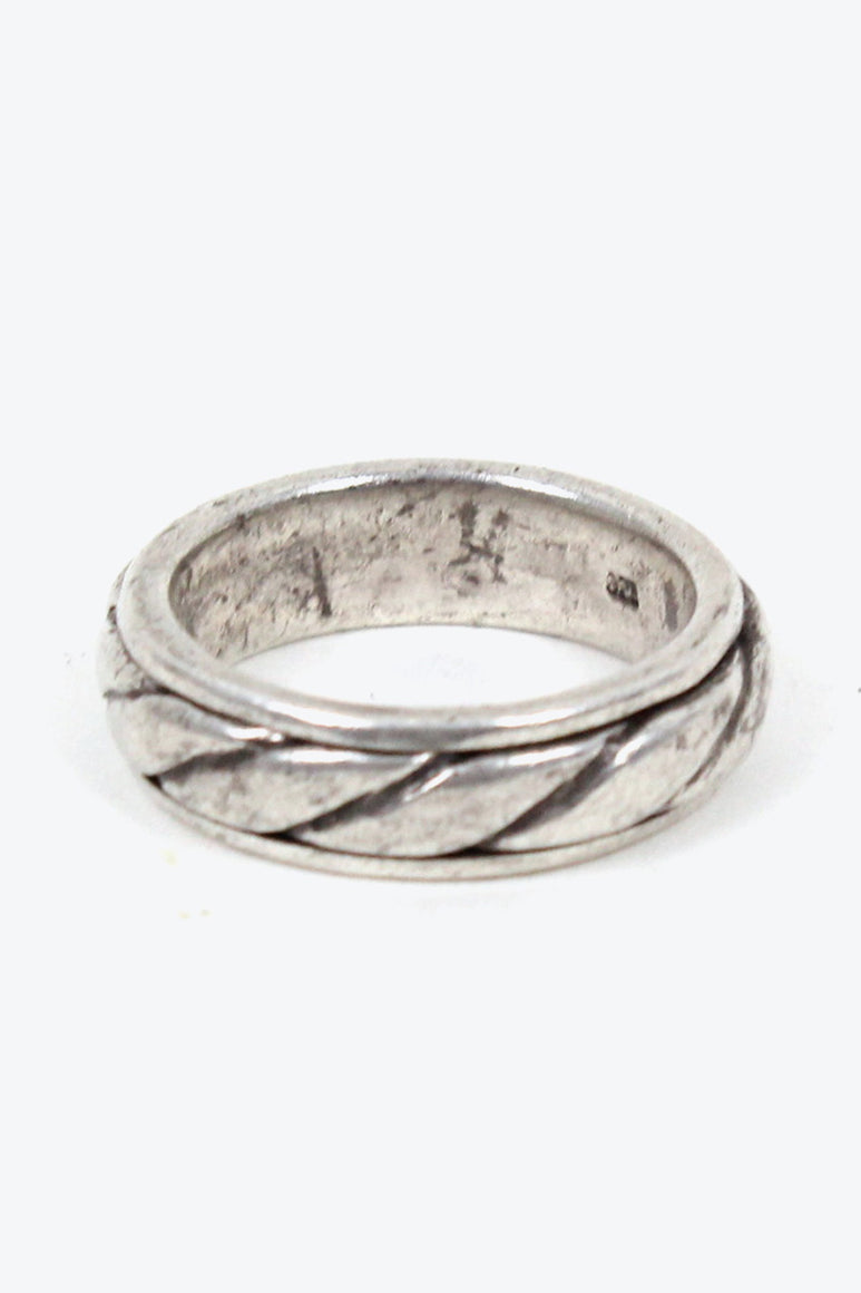 925 SILVER RING [SIZE: 11号相当 USED][金沢店]