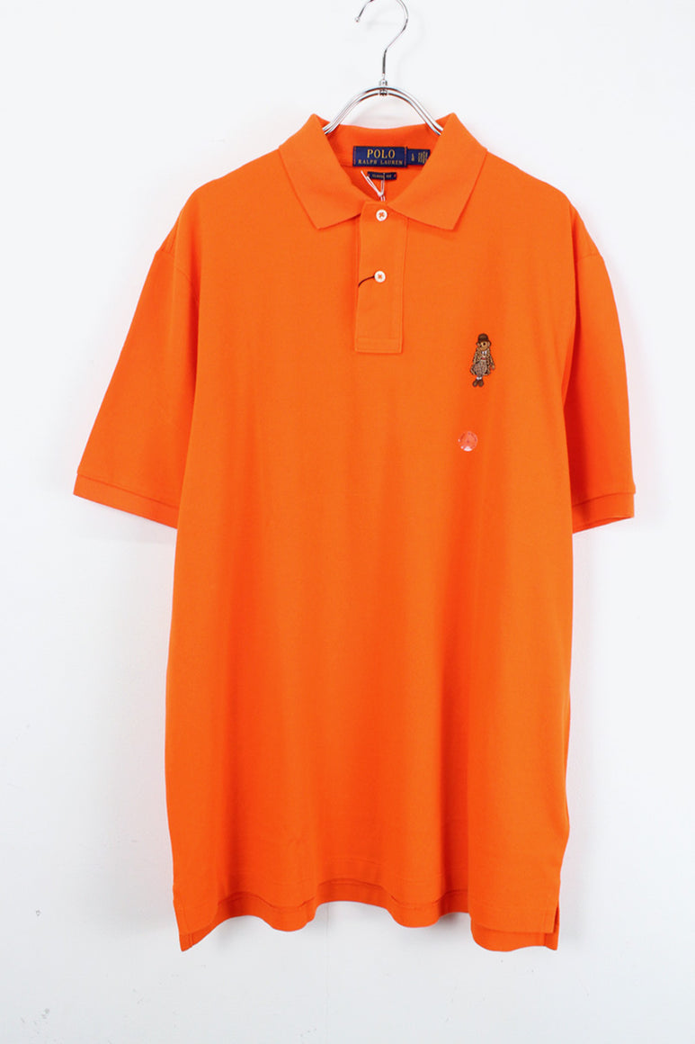 S/S BEAR ONE POINT POLO SHIRT / ORANGE【NEW】【金沢店】