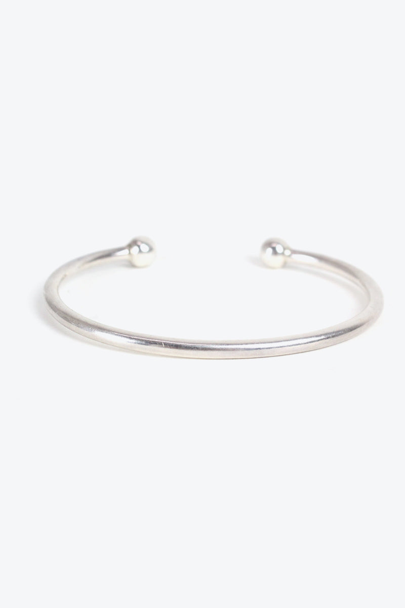 925 SILVER BANGLE【ONE SIZE: USED】【金沢店】