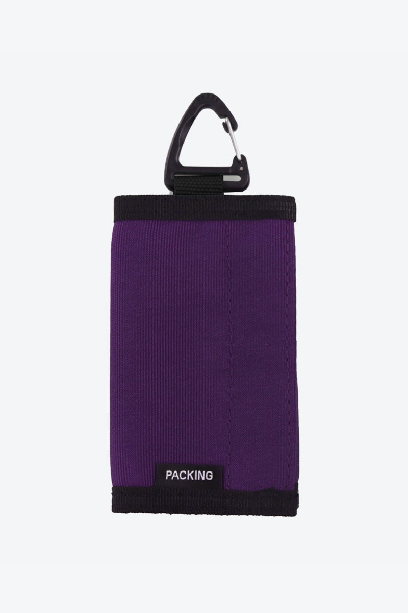 COMPACT WALLET / PURPLE