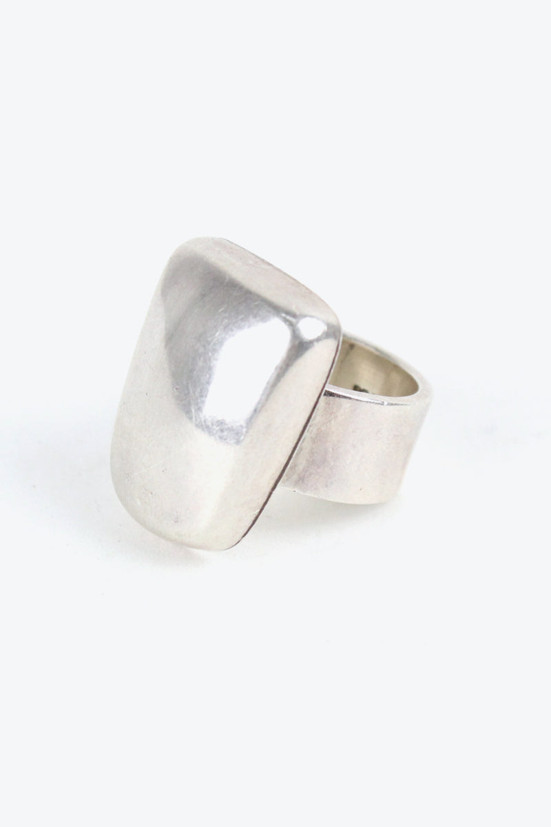 925 SILVER RING【SIZE: 17号相当 USED】【金沢店】