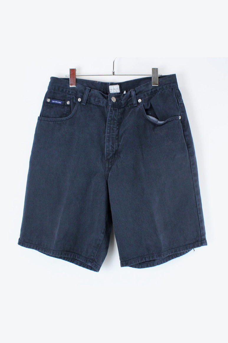 90'S DENIM SHORTS / BLACK [SIZE: 34 USED][金沢店]