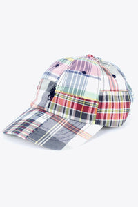 PATCH WORK ONE POINT LOGO CAP / MADRAS CHECK [SIZE: O/S NEW][小松店]
