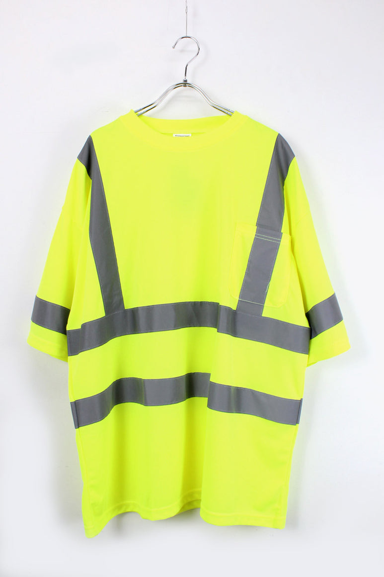 HI-VIS CLASS 3 T-SHIRT / SAFETY GREEN【SIZE:L DEAD STOCK】【金沢店】