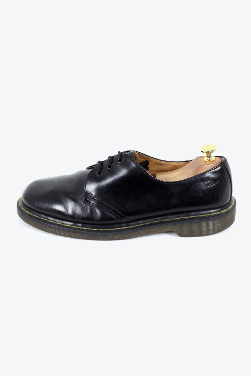 MADE IN ENGLAND 90'S 3HOLE SHOES / BLACK [SIZE: US9.5(27.5cm) USED][金沢店]