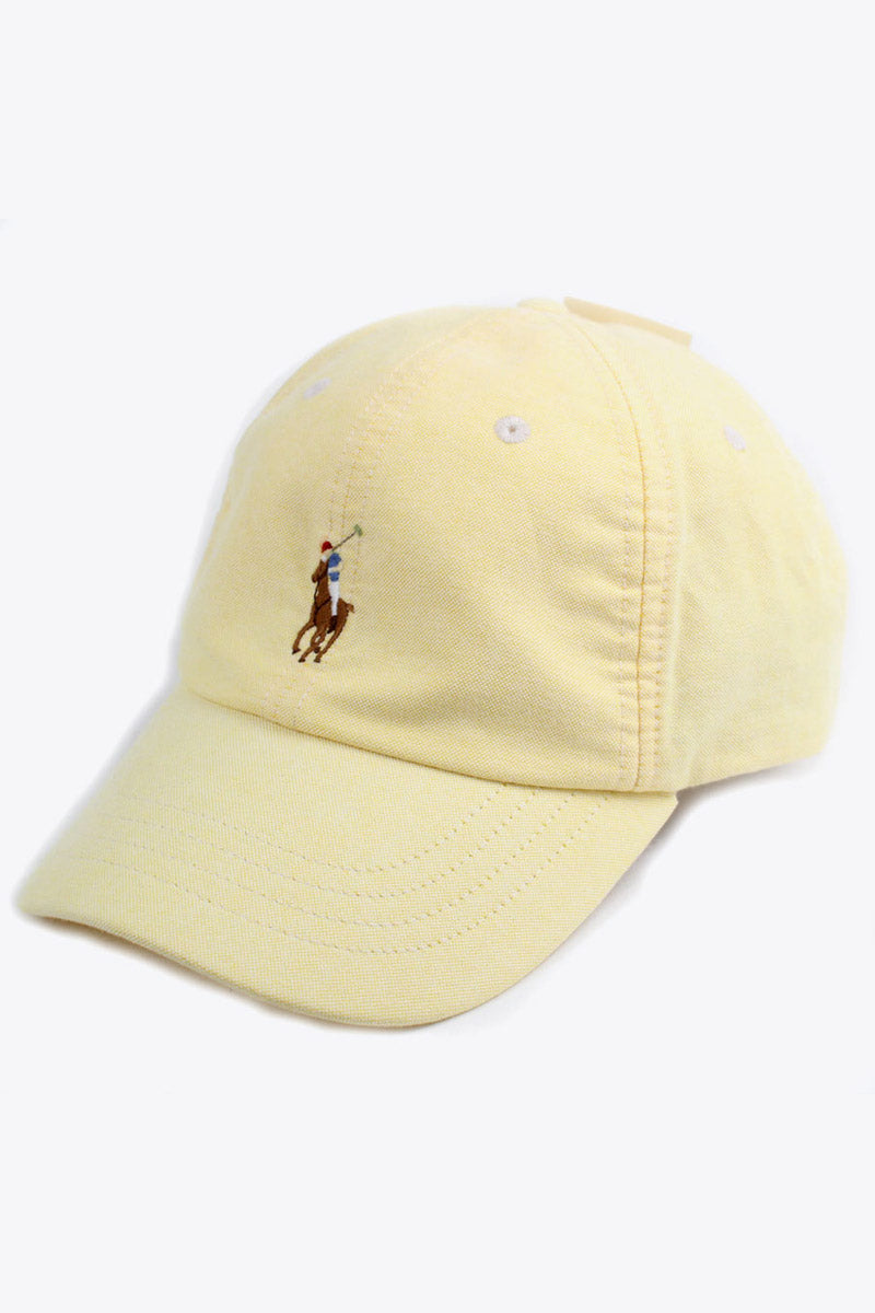 CLASSIC ONE POINT LOGO CAP / LIGHT YELLOW [SIZE: O/S NEW][金沢/小松店]