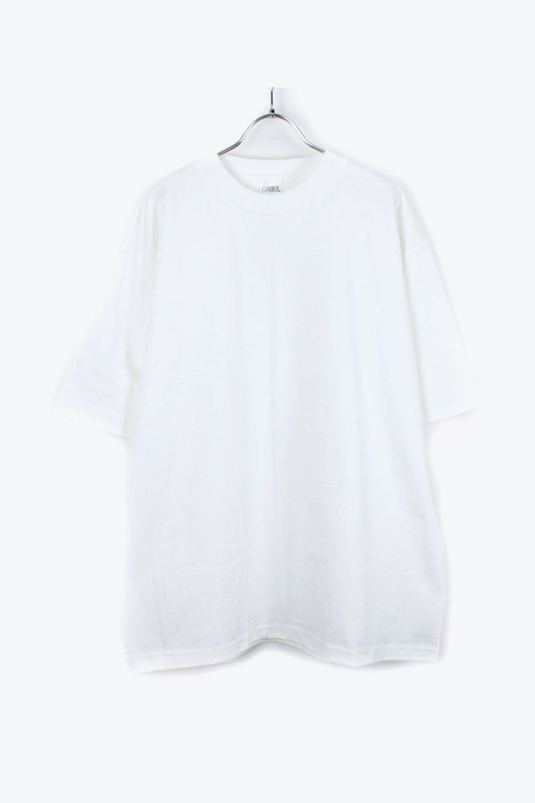 MADE IN USA #301 8OZ MAX WEIGHT S/S T-SHIRT / WHITE