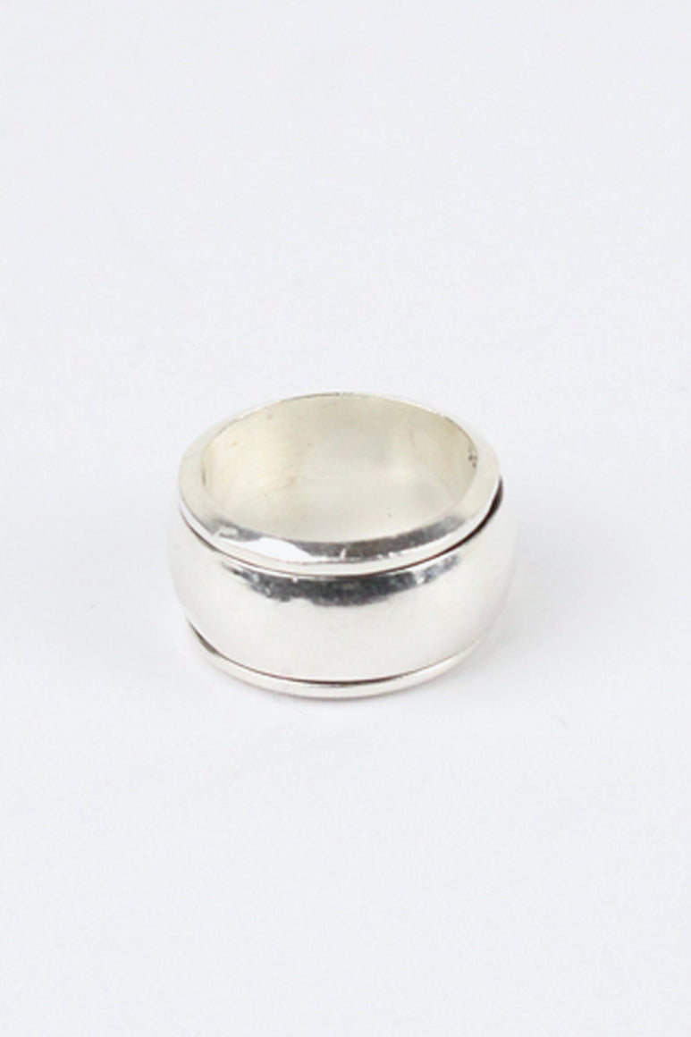 MADE IN MEXICO 925 SILVER RING [SIZE: 18号相当 USED]