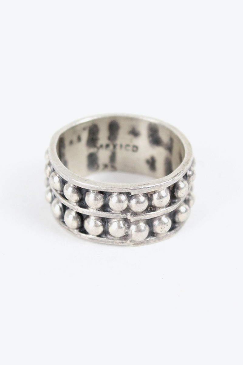 MADE IN MEXICO 925 SILVER RING【SIZE: 12号相当 USED】【金沢店】