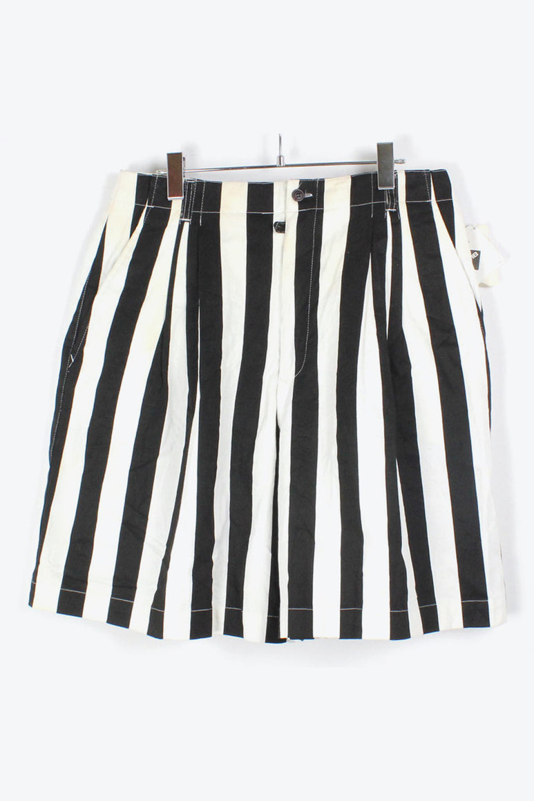 90'S CHINO STRIPE SHORTS / BLACK WHITE [SIZE: 17/18 USED][金沢店]