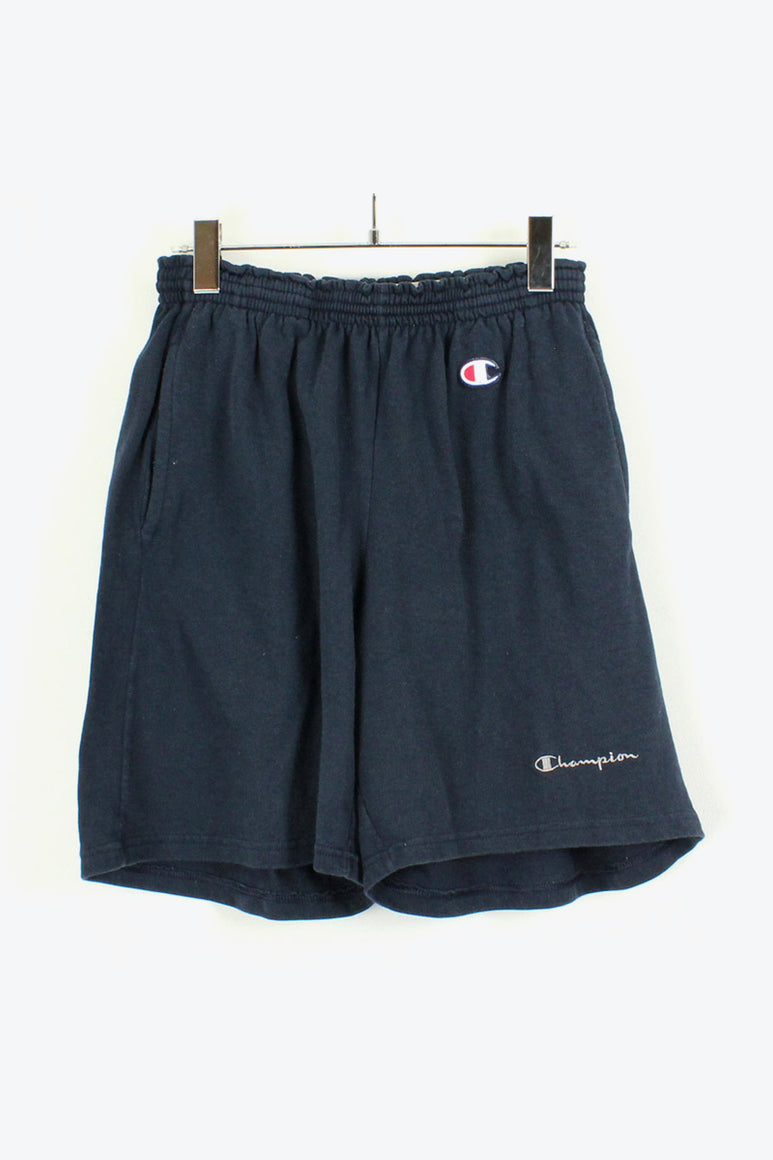 ONE POINT LOGO TRAINING SHORTS / NAVY [SIZE: L USED][金沢店]