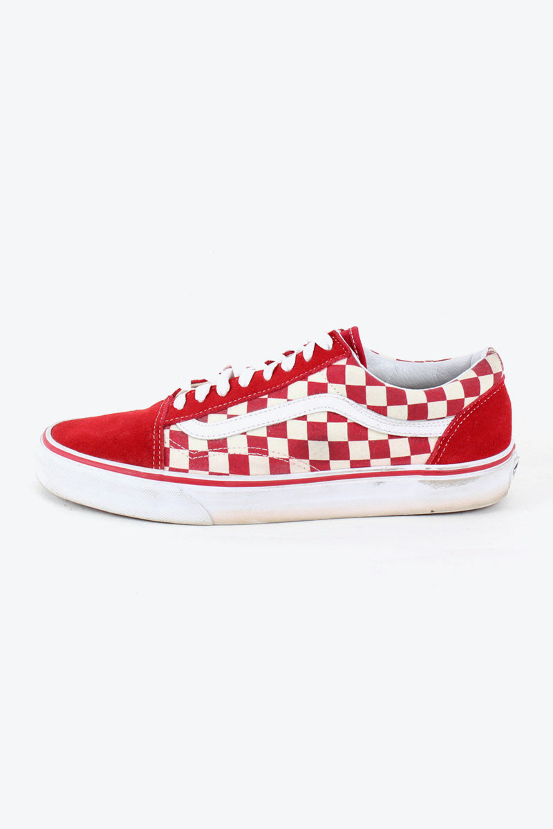 OLD SKOOL USA企画品 / WHITE RED [SIZE: US10(28cm) USED][金沢店]
