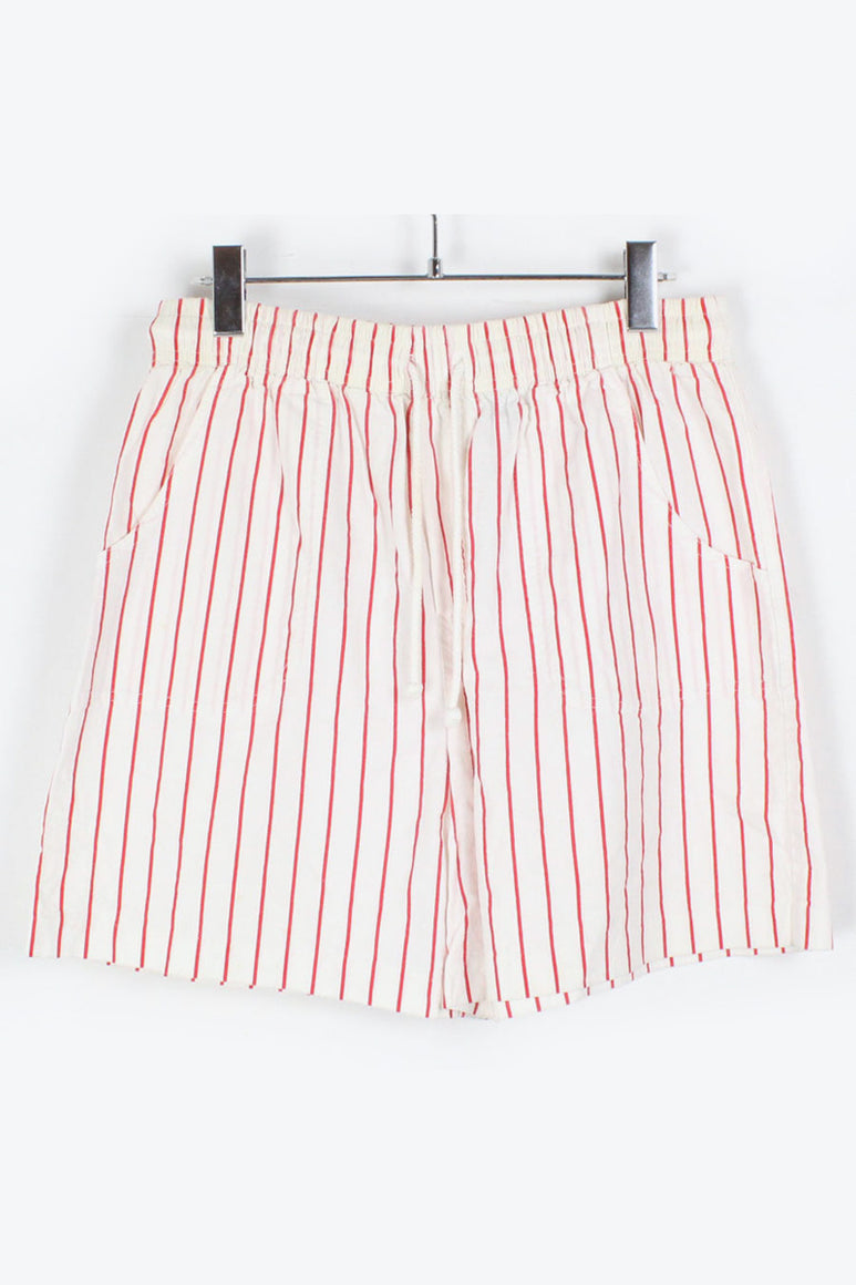 90'S STRIPE CHINO SHORTS / WHITE RED [SIZE: S USED][金沢店]