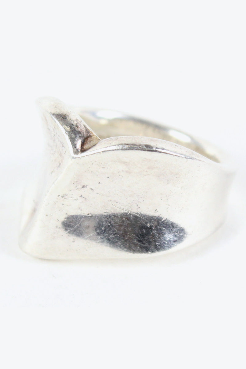 STARLING SILVER RING [SIZE: 21号相当 USED][金沢店]