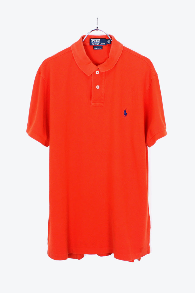 S/S POLO SHIRT / RED【SIZE:L USED】【金沢店】