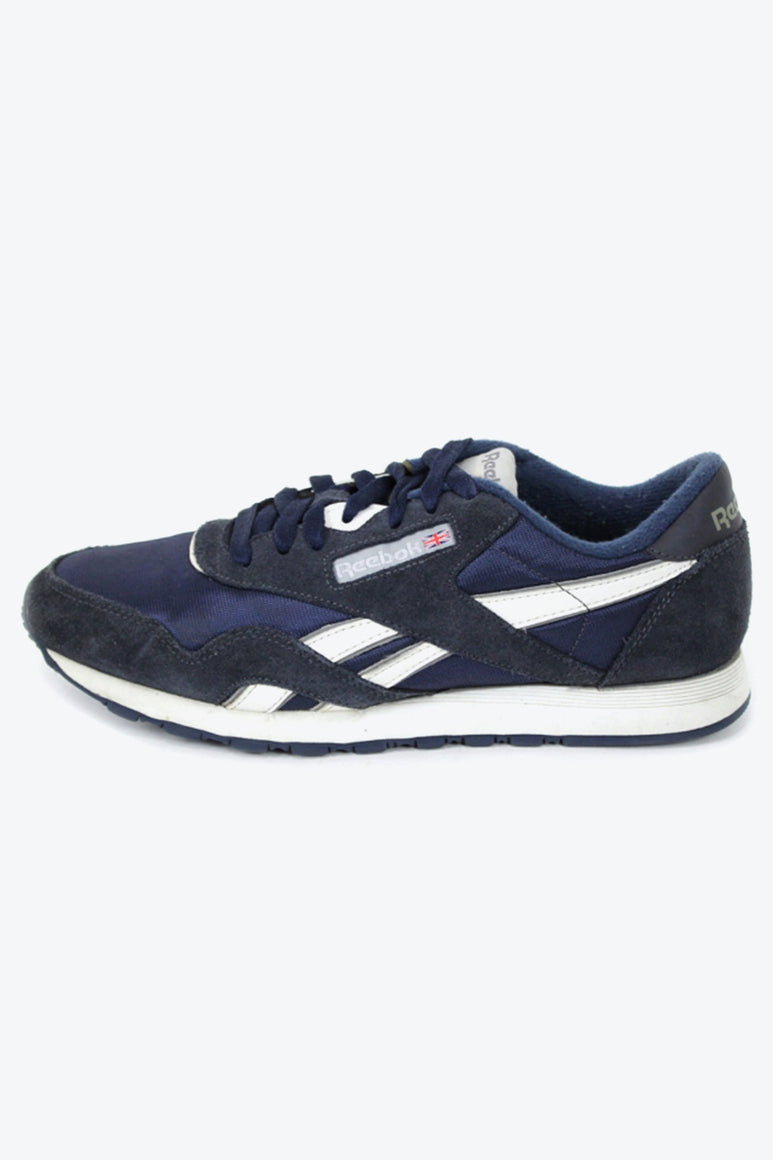 CLASSIC RUNNING SHOES / NAVY [SIZE: US8(26cm) USED][小松店]