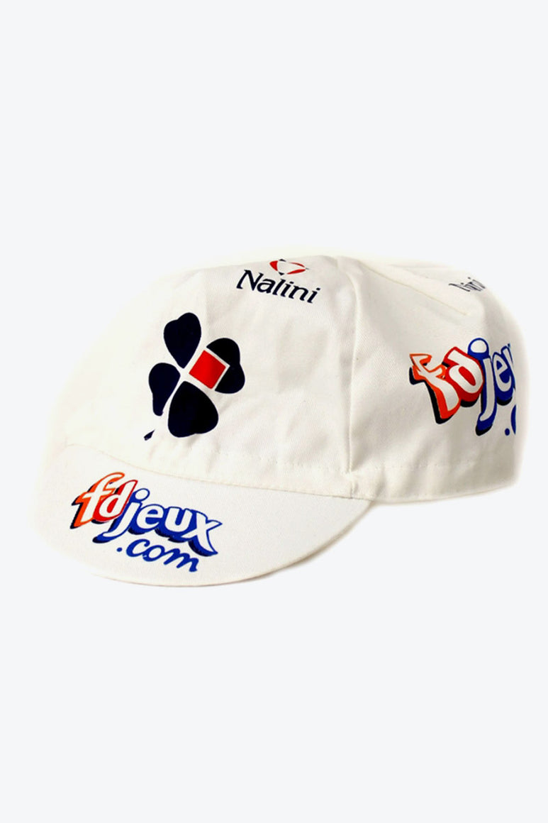 90'S MADE IN ITALY CYCLING CAP / WHITE [SIZE: O/S DEDA STOCK][金沢店]