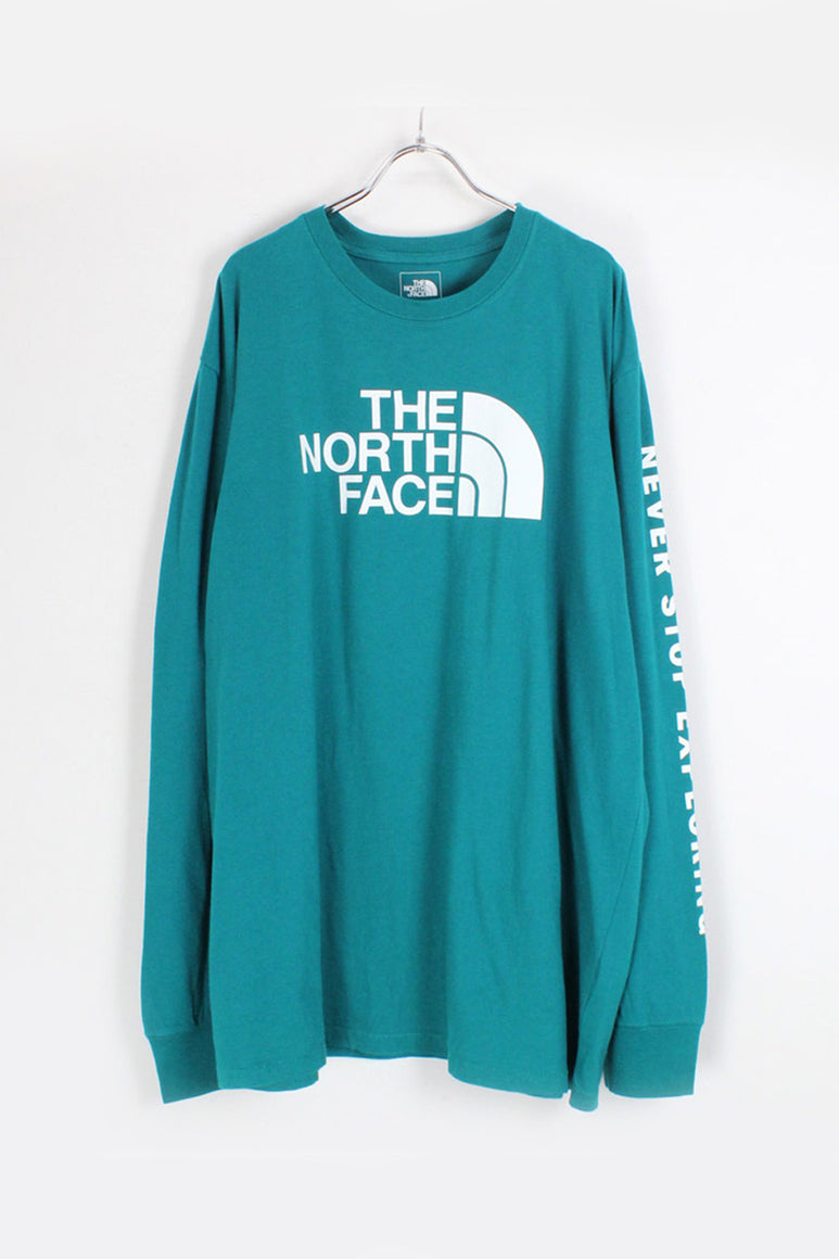 L/S LOGO PRINT TEE / GREEN [NEW][小松店]