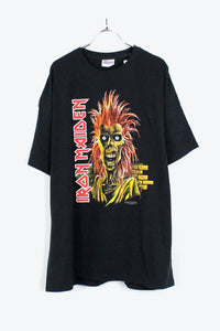 06'S S/S IRON MAIDEN BAND T-SHIRT / BLACK [SIZE: XL USED][小松店]