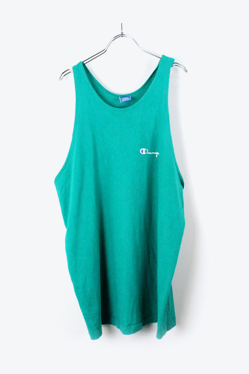 90'S TANK TOP / GREEN [SIZE:XL USED] [金沢店]