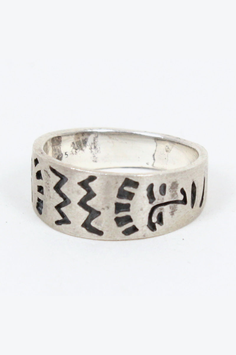 925 SILVER RING [SIZE: 16号相当 USED][金沢店]