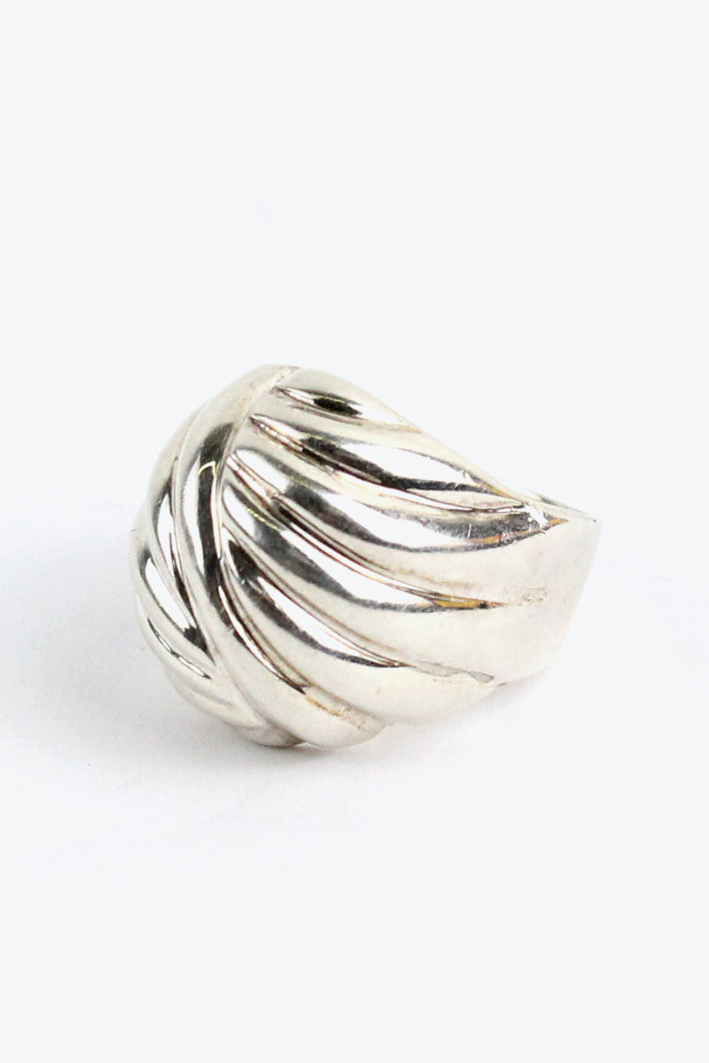 925 SILVER RING [SIZE: 20号相当 USED][金沢店]