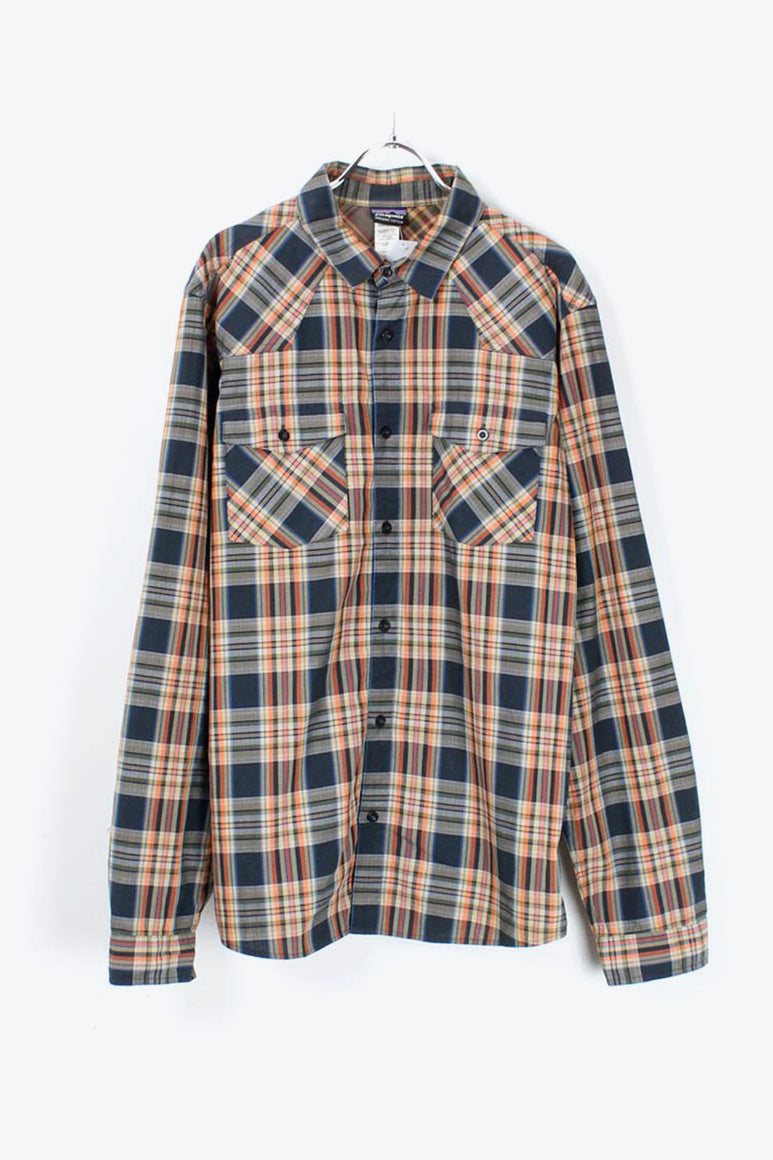 L/S CHECK SHIRT / MULTI [SIZE: M USED][金沢店]