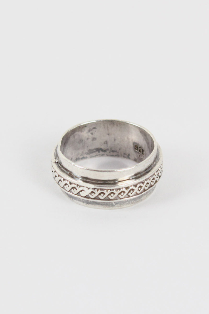 925 STERLING SILVER RING【SIZE:22号相当 USED】【金沢店】