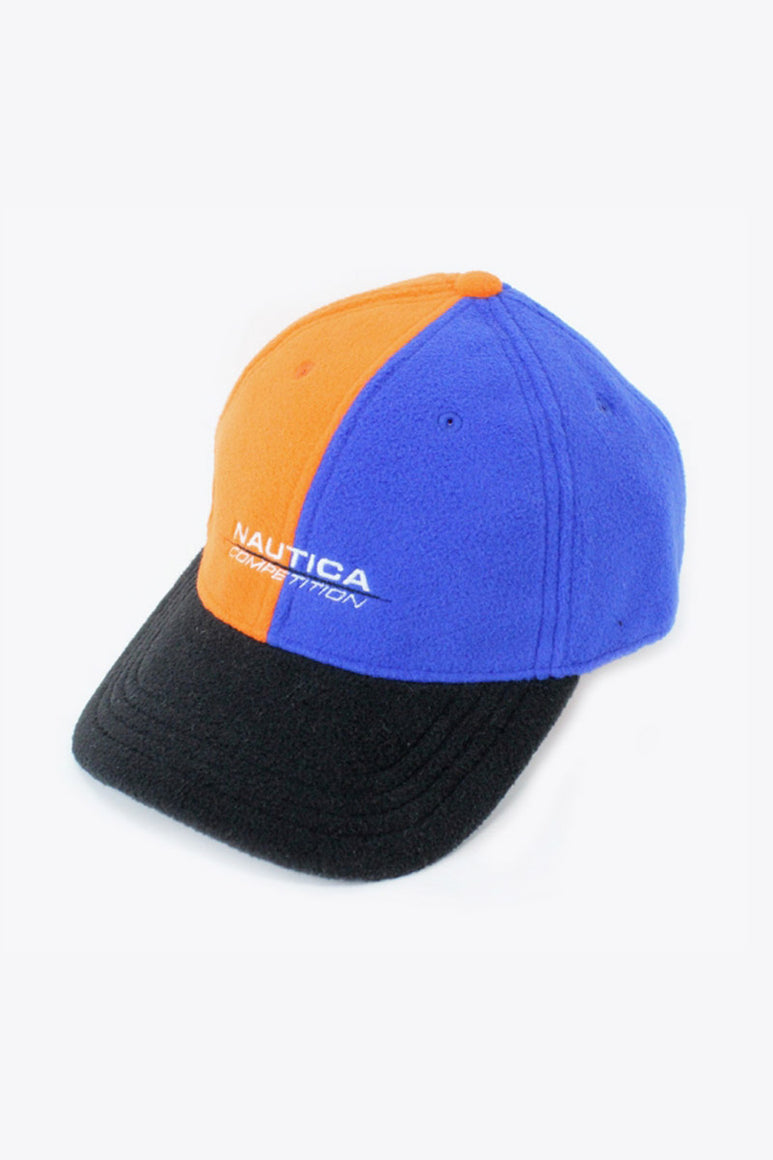 EXCLUSIVE FLEECE CAP USA企画品 / BLUE ORANGE [SIZE: O/S NEW][小松店]