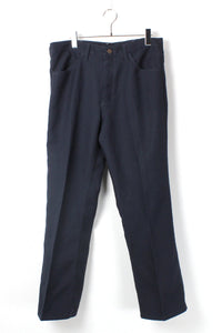 MADE IN MEXICO WRANCHER STA-PREST PANTS / NAVY【SIZE:W34L32 USED】【金沢店】