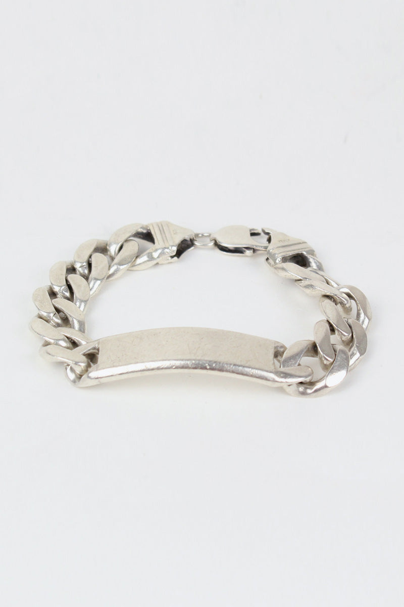 MADE IN ITALY SILVER BRACELET [SIZE:ONE SIZE USED][金沢店]