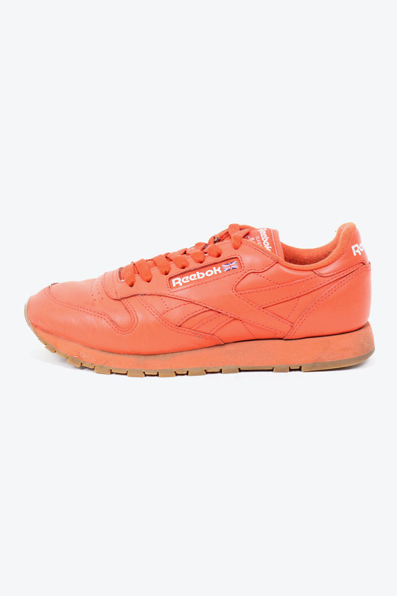 CLASSIC LEATHER SNEAKER / ORANGE [SIZE: US7(25cm) USED][小松店]