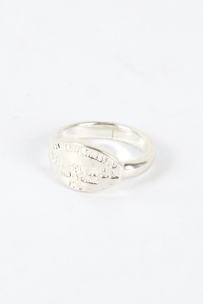 925 SILVER RING [SIZE: 12号相当 USED]