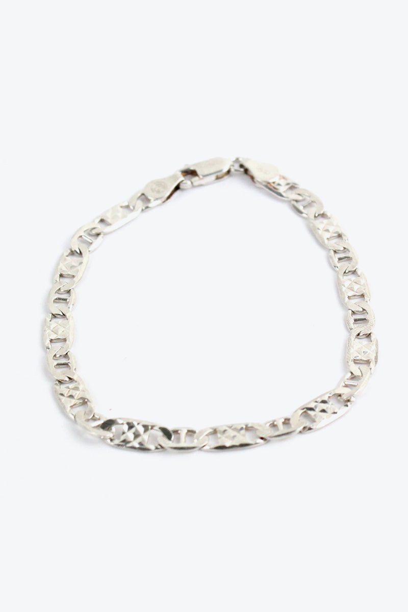 MADE IN ITALY 925 SILVER BRACELET [SIZE: ONESIZE USED][金沢店]