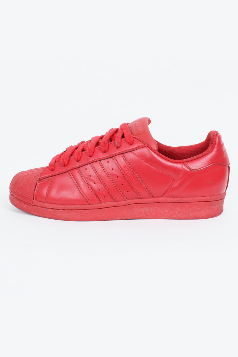 SUPER STAR SNEAKERS / RED [SIZE: US8.5(26.5cm) USED][金沢店]