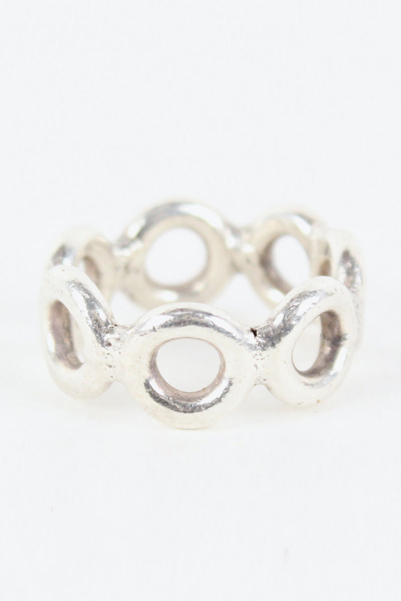 MADE IN MEXICO 925 SILVER RING [SIZE: 13号相当 USED][小松店]