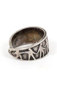 925 SILVER RING [SIZE: 10号相当 USED][金沢店]